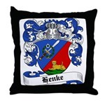 Henke Coat of Arms Throw Pillow