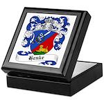 Henke Coat of Arms Keepsake Box