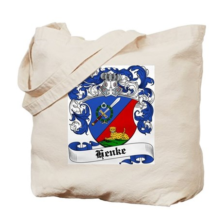 Henke Coat of Arms Tote Bag