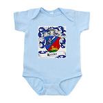 Henke Coat of Arms Infant Creeper