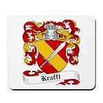 Krafft Coat of Arms Mousepad