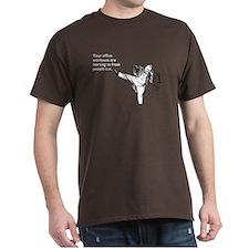 Office Workouts Dark T-Shirt