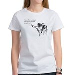 Office Workouts Women's T-Shirt