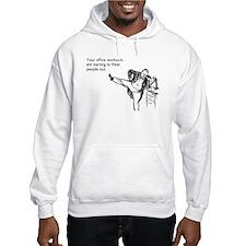 Office Workouts Hooded Sweatshirt