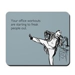 Office Workouts Mousepad