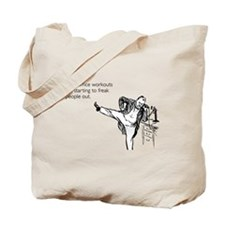 Office Workouts Tote Bag