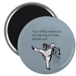 Office Workouts Magnet