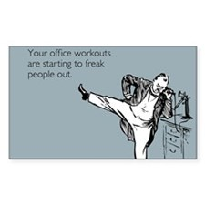 Office Workouts Decal