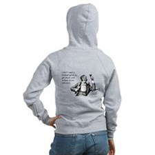Football Drunk Women's Zip Hoodie