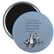 Football Drunk Magnet