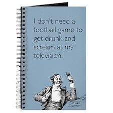 Football Drunk Journal
