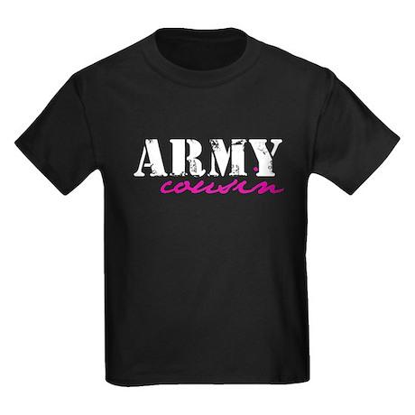 Army Cousin Kids Dark T-Shirt
