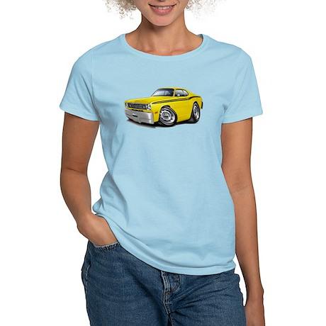 Duster Yellow-Black Car Women's Light T-Shirt