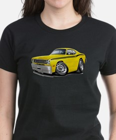 Duster Yellow-Black Car Tee