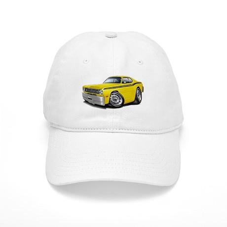 Duster Yellow-Black Car Cap
