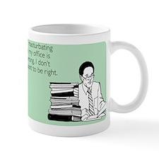 Office Masturbation Small Mug