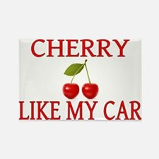 Cherry Like My Car Rectangle Magnet