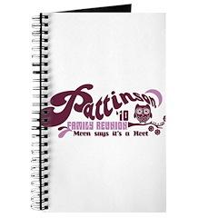 Patz Family Reunion Journal