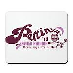 Patz Family Reunion Mousepad