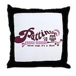 Patz Family Reunion Throw Pillow
