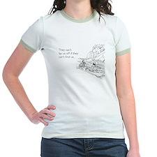 Lay Us Off Jr. Ringer T-Shirt