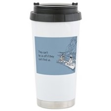 Lay Us Off Stainless Steel Travel Mug