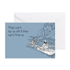 Lay Us Off Greeting Cards (Pk of 20)