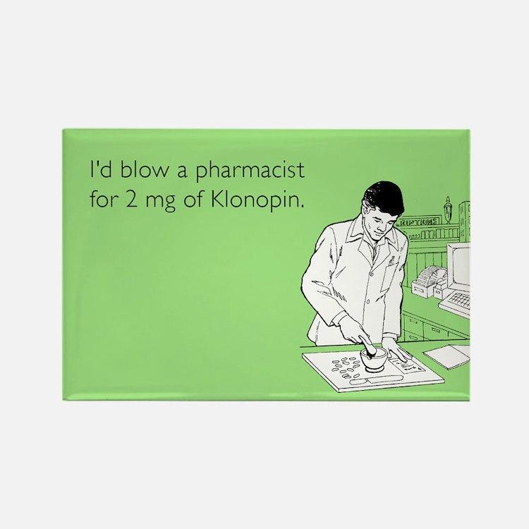 Pharmacist Klonopin Rectangle Magnet