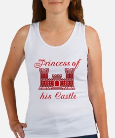 his castle red Women's Tank Top