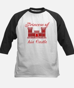his castle red Kids Baseball Jersey