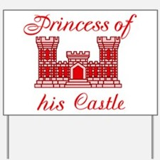 his castle red Yard Sign