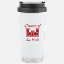 his castle red Stainless Steel Travel Mug