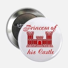 """his castle red 2.25"""" Button"""