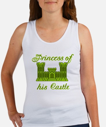 his castle lime green Women's Tank Top