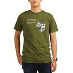 Inspirational Presentation Organic Men's T-Shirt (
