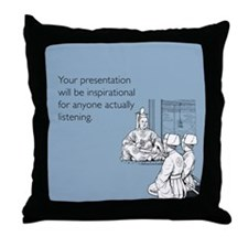 Inspirational Presentation Throw Pillow