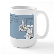 Inspirational Presentation Large Mug