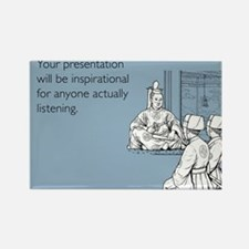 Inspirational Presentation Rectangle Magnet