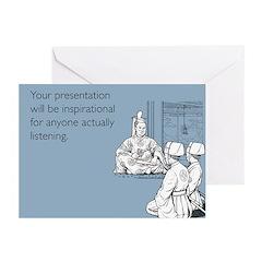 Inspirational Presentation Greeting Cards (Pk of 1