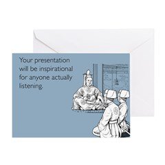 Inspirational Presentation Greeting Card