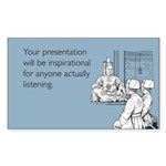 Inspirational Presentation Sticker (Rectangle)