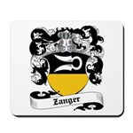 Zanger Coat of Arms Mousepad