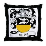 Zanger Coat of Arms Throw Pillow