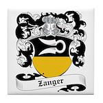 Zanger Coat of Arms Tile Coaster