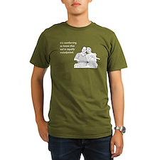 Equally Maladjusted Organic Men's T-Shirt (dark)