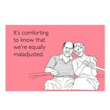Equally Maladjusted Postcards (Package of 8)