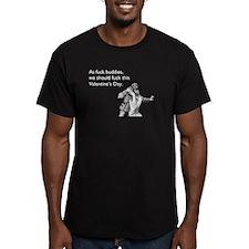 Fuck Buddies Men's Fitted T-Shirt (dark)