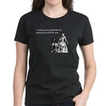 Dating Profile Women's Dark T-Shirt
