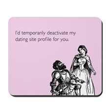 Dating Profile Mousepad