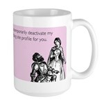 Dating Profile Large Mug